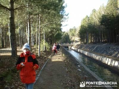 Caminando en las majadas; excursiones en la sierra de madrid